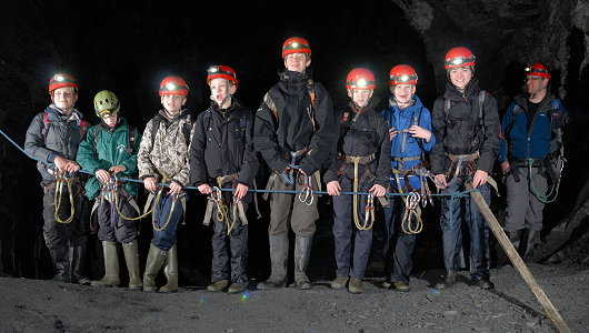 School Caving Trip in Snowdonia