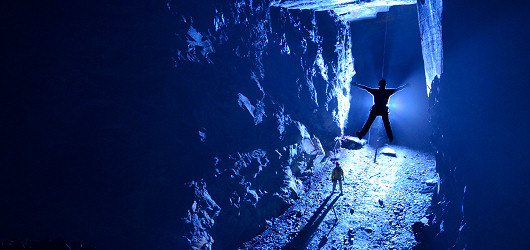 Underground Freefall in Wales